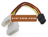 Кабель ATX6pM/F для видеокарты 0,3 м электрический