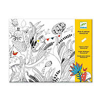 Альбом-раскраска Бал бабочек DJ09645 ТМ: Djeco