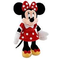 Плюшевая игрушка Минни Маус в красном платье 48 см Disney Minnie Mouse Plush Red Medium