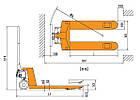 Погрузчик ручной Tory Carrier HP-III, фото 2
