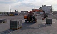 Устройство покрытия из тротуарной и дорожной плитки, плит