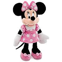 Плюшевая игрушка Минни Маус в розовом платье 48 см DisneyMinnie Mouse Plush Pink Medium