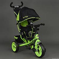 Детский трёхколёсный велосипед 6570 САЛАТОВЫЙ