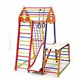 Детский спортивный комплекс BambinoWood Color Plus 1-1, фото 4