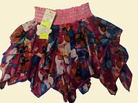 Юбка пестрая розовая, 150