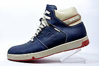 Мужские ботинки Fila Winter кожа Dark Blue\ Beige