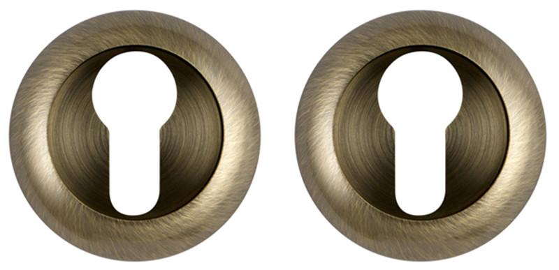 Накладка под цилиндр Fuaro ET RM зеленая бронза (Китай)