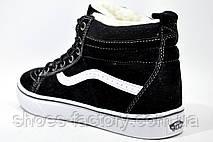 Зимние кроссовки в стиле Vans Old Skool Winter, на меху (Унисекс), фото 3