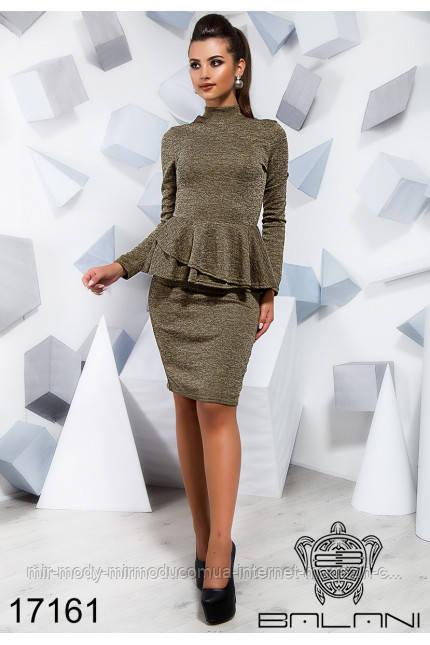 Стильное платье - 17160(б-ни)