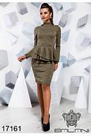 Стильное платье - 171609б-(б-ни), фото 1