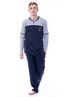 Теплая мужская пижама для дома и сна Турция