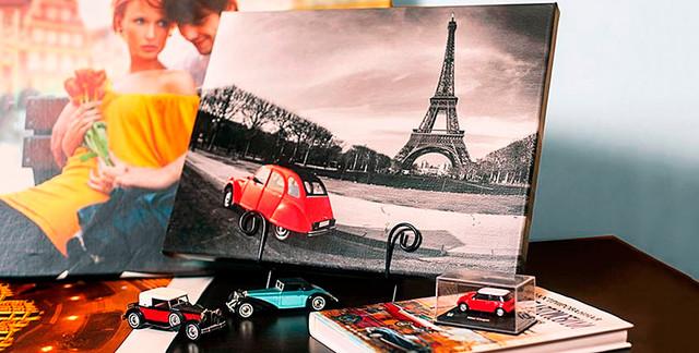 Печать фотографий на холсте в Днепре