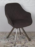 Кресло поворотное Almeria (Алмерия), коричневый