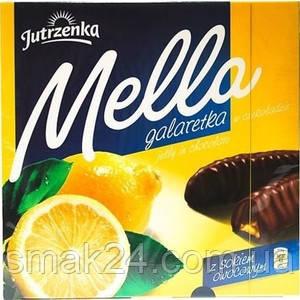 Конфеты шоколадные Galaretka Mella с лимонным соком Goplana Польша 190г
