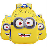 Детский 3D рюкзак Миньоны (Minions) 3D / m2