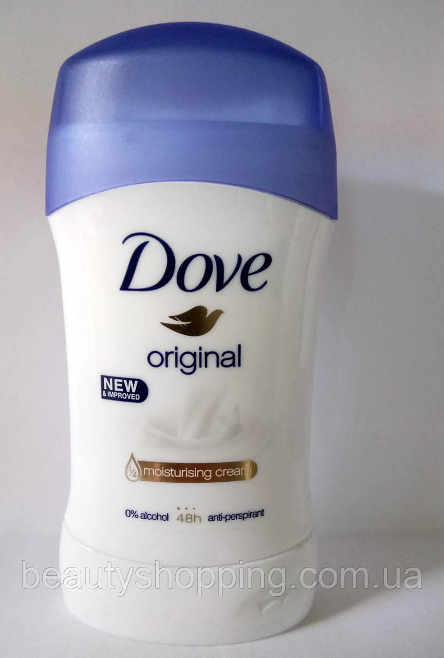 Dove Original увлажняющий крем твердый антиперспирант