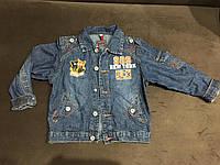 Детская джинсовая куртка осень-весна б/у