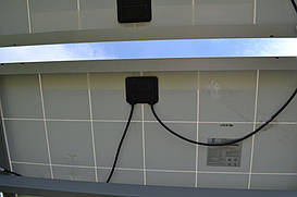 Тыльная сторона поля фотомодулей Perlight Solar PLM-310P-72