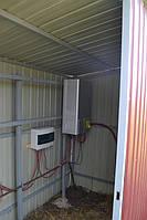 Подключение сетевого солнечного инвертора OMRON KP 100L-OD-EU (10 кВт, 3 фазы, 3 МРРТ ) и комплекта защитной автоматики