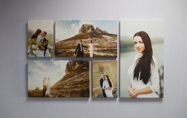Печать картин на холсте в Днепре