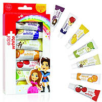 Зубна паста дитяча edel + white ® «7 фруктів»