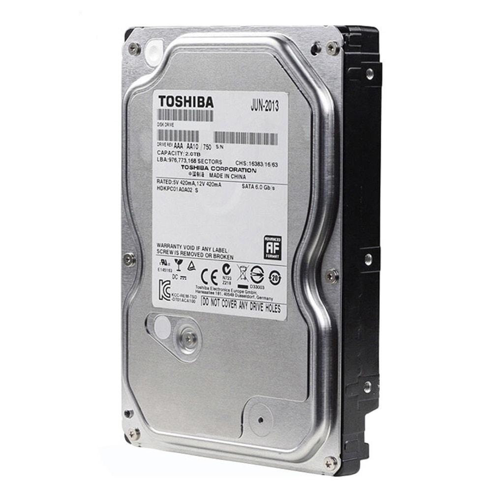 Жорсткий диск HDD 2000Gb Toshiba DT01ACA100 (64M Buffer, 7200, SATA-3)