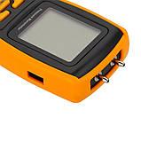 Цифровой дифференциальный манометр BENETECH GM520 (0.01/35 кПа) USB интерфейс, максимальное давление до 150 кП, фото 3