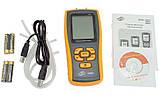 Цифровой дифференциальный манометр BENETECH GM520 (0.01/35 кПа) USB интерфейс, максимальное давление до 150 кП, фото 5