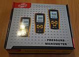Цифровой дифференциальный манометр BENETECH GM520 (0.01/35 кПа) USB интерфейс, максимальное давление до 150 кП, фото 7