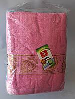 """Полотенце для лица """"Цветочки"""" лен-махра, фото 1"""