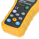 Бесконтактный фото-тахометр HYELEC MS6208B (50 - 250 мм) 50-99999 RPM, память 100 групп, фото 6