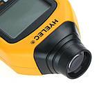 Бесконтактный фото-тахометр HYELEC MS6208B (50 - 250 мм) 50-99999 RPM, память 100 групп, фото 7