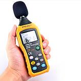 Шумомер Hyelec MS6708 (MT-4618) ( 30-130 dB )± 1.5 dB с защитой от влаги и пыли, фото 2