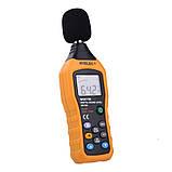 Шумомер Hyelec MS6708 (MT-4618) ( 30-130 dB )± 1.5 dB с защитой от влаги и пыли, фото 3