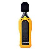 Шумомер Hyelec MS6708 (MT-4618) ( 30-130 dB )± 1.5 dB с защитой от влаги и пыли, фото 6