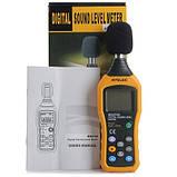 Шумомер Hyelec MS6708 (MT-4618) ( 30-130 dB )± 1.5 dB с защитой от влаги и пыли, фото 7