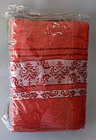Полотенце для лица с узорами лен-махра, фото 1