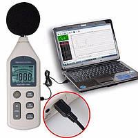 Профессиональный цифровой шумомер Benetech GM1356 (SR5834 ) (30 - 130dB) с USB-интерфейсом, фото 1