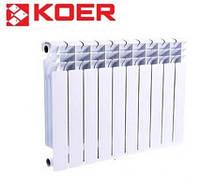 Биметаллический радиатор отопления KOER 500*96 (Чехия)