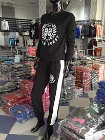 Спортивный костюм женский на байке S-XL (4 расцветки) Турция