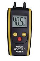 Влагомер дерева и строй материалов HT-610 ( DT-61 ) (дерево: 6-48%; строй материалы 0,1-11%) с термометром, фото 1