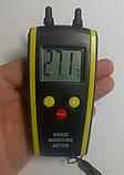 Влагомер дерева и строй материалов HT-610 ( DT-61 ) (дерево: 6-48%; строй материалы 0,1-11%) с термометром, фото 5
