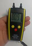 Влагомер дерева и строй материалов HT-610 ( DT-61 ) (дерево: 6-48%; строй материалы 0,1-11%) с термометром, фото 6