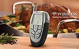 Беспроводной термометр (до 100 м) с щупом для приготовления пищи CVMH-G353 (-10 до +250 °С) С ф-ей Будильник, фото 4