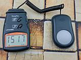 Люксметр цифровой с выносным датчиком LX1010BS (1-100.000 Lx) с выбором диапазона измерений, фото 2
