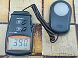 Люксметр цифровой с выносным датчиком LX1010BS (1-100.000 Lx) с выбором диапазона измерений, фото 3