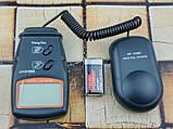 Люксметр цифровой с выносным датчиком LX1010BS (1-100.000 Lx) с выбором диапазона измерений, фото 4