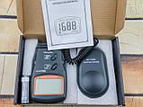 Люксметр цифровой с выносным датчиком LX1010BS (1-100.000 Lx) с выбором диапазона измерений, фото 7