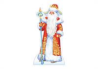 Дед Мороз из гофрокартона
