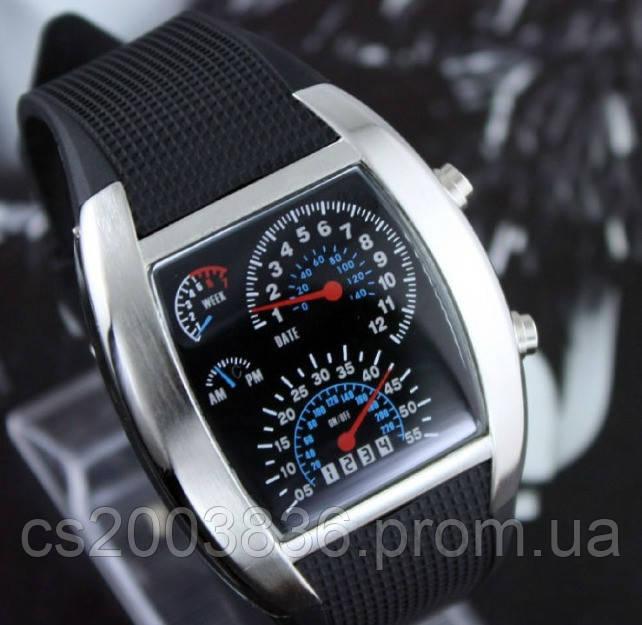 2014 года! Гоночные часы спидометр Street Racer, (бинарные часы спидометр) binar часы купить